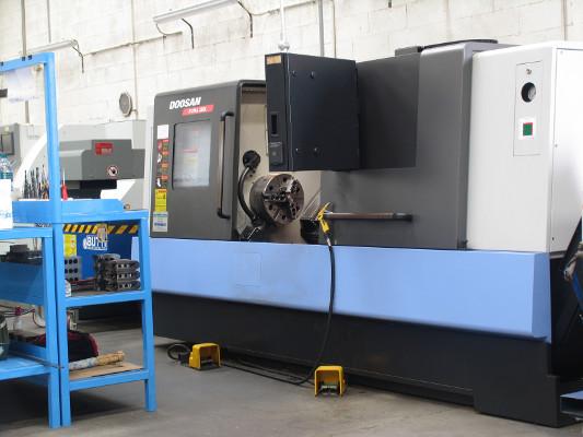 tornio-puma-280l - C.A.U lavorazioni meccaniche